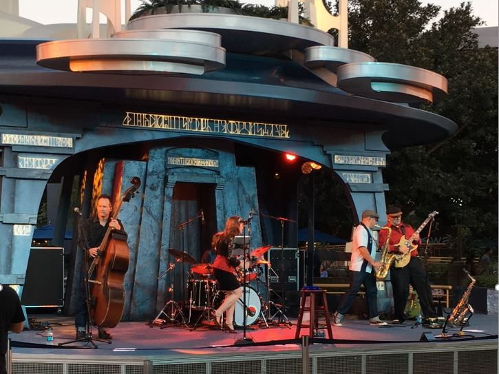 The Lizards at Disneyland's Tomorrowland Terrace
